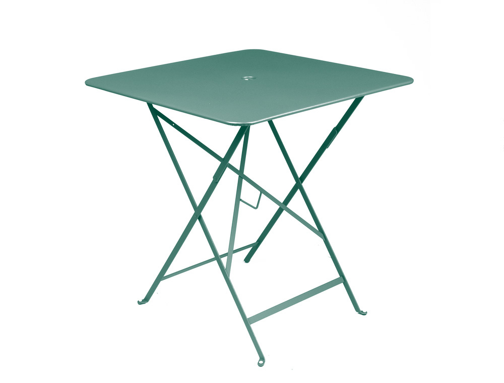 Merveilleux Fermob Bistro Folding Table   71cm Square Top