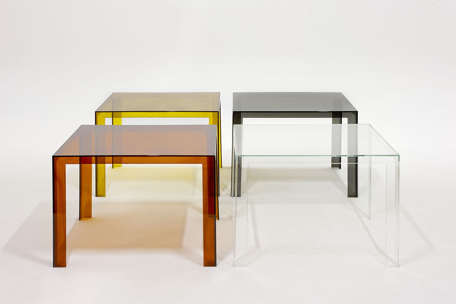 Kartell invisible dining table