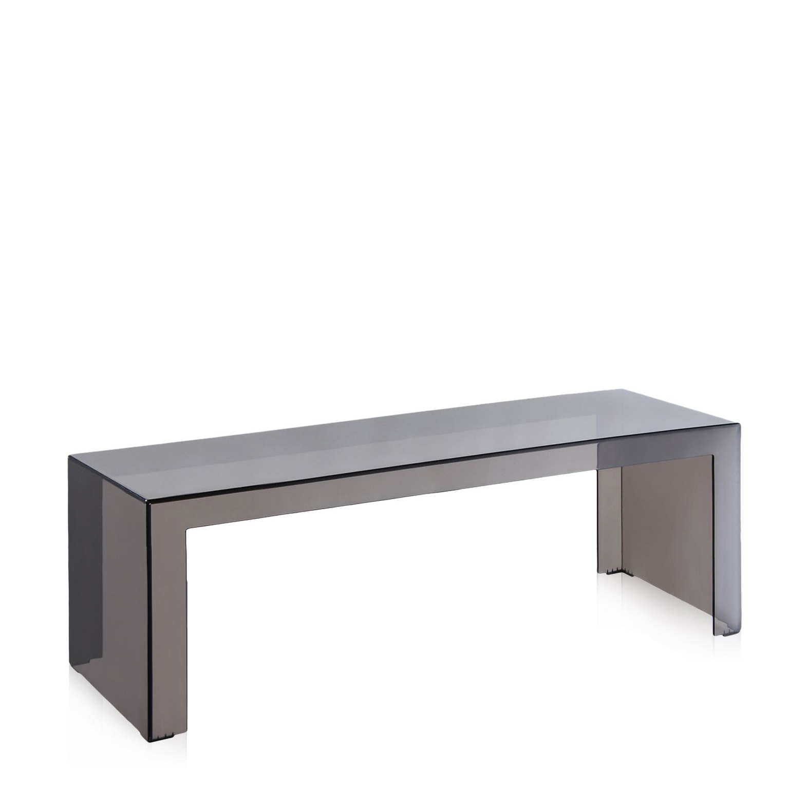 Buy Kartell Invisible long low Side table online from Connections