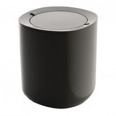 Buy online contemporary bathroom laundry accessories for Dark grey bathroom bin
