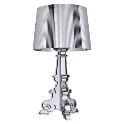 kartell bourgie l silver chromed kartell light