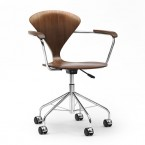 Cherner Task swivel mobile armchair