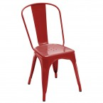 Tolix A Chair Gloss Lacquered Steel (Stacking)
