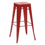 Tolix H 75 High Stool lacquered steel