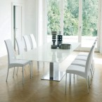Bontempi Casa Oasi 190/200/240x106cm extra wide extending table