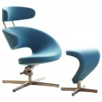 Varier Peel Lounger Chair & Footrest