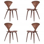 Cherner Chairs (set of 4) - By Norman Cherner