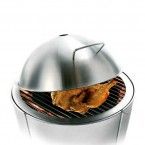 Eva Solo Dome Cooking Lid Small (Ø49cm) for Charcoal Grill (Stainless Steel)