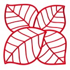 Koziol Room Divider - LEAF (Set of 4)