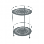 Fermob Guinguette Side Table (Double Top Perforated)