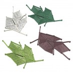 Casamania Maria Decorative Leaf Screen Kit (Set of 42 leaves)