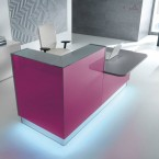 MDD LINEA Counter & Desk High Reception