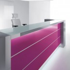 MDD Valde Pillar Reception Desk