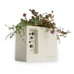 Green&Blue Beepot Mini Concrete Planter