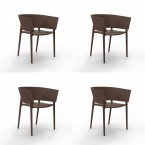 Vondom AFRICA Armchair (Set of 4)