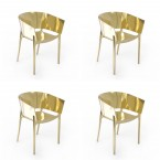 Vondom AFRICA Armchair Metallic (Set of 4)