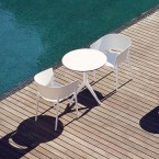 Vondom Mari-Sol Cafe Table (H73cm) (HPL Folding Top)