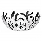 Alessi Mediterraneo Ø21cm Fruit Bowl - Polished Stainless Steel