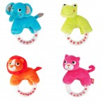 Present Time JIP Soft Childs Zoo Rattle