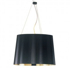 Kartell Ge suspension lamp metallic