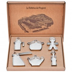 Alessi Progiotti Set of 6 Cookie Cutters