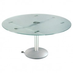 Naos Atlante 140 cm Folding Glass Dining Table
