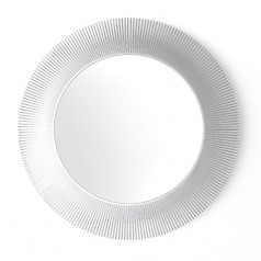 Kartell All Saints Transparent Round Mirror