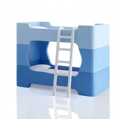 Magis Me Too Bunky Bunk Bed Set With Ladder