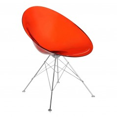 Kartell Eros Tub Chair With Glides