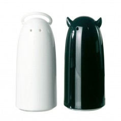Koziol Spicies salt and pepper shakers