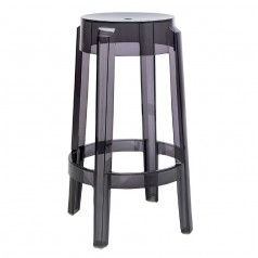 Kartell Charles Ghost Stool (Medium 65cm Height)