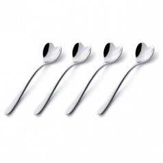 Alessi Big Love Heart Espresso Spoons (Set of 4)