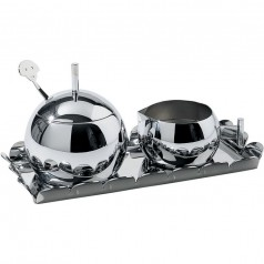 Alessi Anna Sugar Bowl & Creamer Set