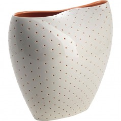 Alessi Aldo vase perforated porcelain
