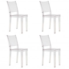 Kartell La Marie chair set of 4