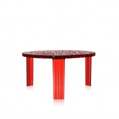 Kartell T-Table Coffee Table (H28cm)