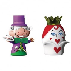 "Alessi ""The Hatter & The Queen of Hearts"" set of two figurines"