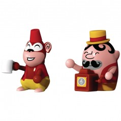 Alessi Jimmy Melody & Monkey Money figurines
