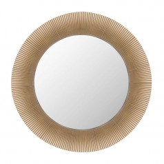 Kartell All Saints gold plated mirror