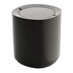 Alessi Birillo Waste Bin - Dark Grey