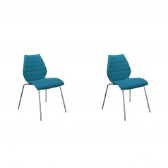 Kartell Maui Soft chair set of 2