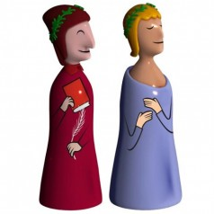 Alessi Dante e Virgilio set of two figurines