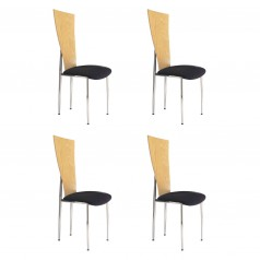 Ergo dining chair set of 4
