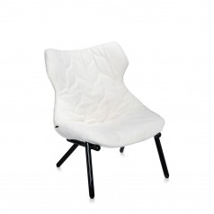 Kartell Foliage chair - black leg version