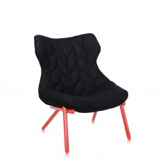 Kartell Foliage chair - red leg version
