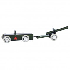 Magis Me Too ArcheToys Army Jeep & Cannon