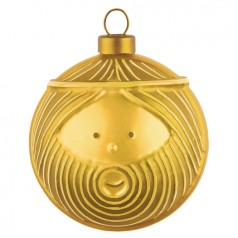 Alessi Gold Giuseppe Bauble