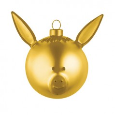Alessi Gold Asinello Bauble