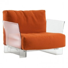 Kartell Pop Cotton fabric seating