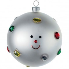 Alessi Fioccodineve Christmas bauble
